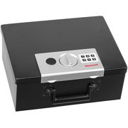Honeywell 0.26 cu. ft. Steel Fire-Resistant Security Box with Digital Lock, 6108
