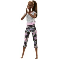 Barbie Made to Move Doll, Brown Hair