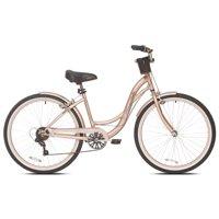 """Kent 26"""" Women's, Bayside Cruiser Bicycle, Gold"""