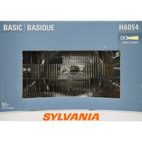 SYLVANIA H6054 Basic Headlight, Contains 1 Bulb