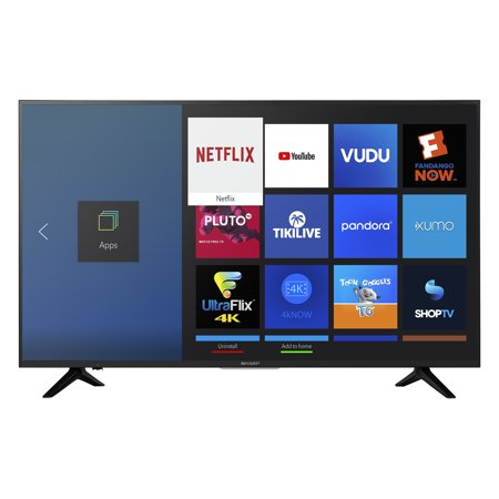 "Sharp 50"" Class 4K Ultra HD (2160p) HDR Smart LED TV (LC-50Q7030U)"