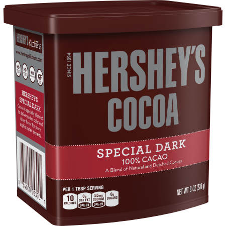 (2 Pack) Hershey's, Special Dark Cocoa, 8 oz (French Cocoa Powder)