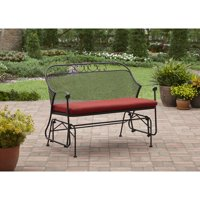 Better Homes & Gardens Clayton Court Outdoor Glider, Red