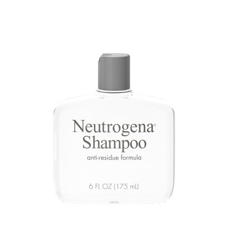 Neutrogena Anti-Residue Gentle Clarifying Shampoo, 6 fl. oz
