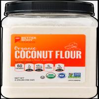 BetterBody Foods Organic Coconut Flour, Gluten-Free, 2.25 lbs