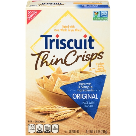 Nabisco Triscuit Thin Crisps Original Crackers, 7.1 Oz.