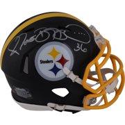 d9764ad2118 Jerome Bettis Pittsburgh Steelers Autographed Riddell Black Matte Alternate  Speed Mini Helmet - Fanatics Authentic Certified