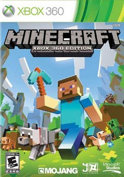 Minecraft Xbox 360 Edition, Microsoft, Xbox 360, 885370606515 (spin tires for xbox 360)