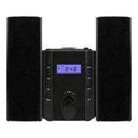 Sylvania SRCD804BT Bluetooth(R) CD Microsystem with Radio