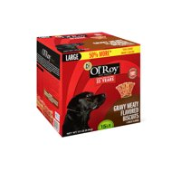 Ol' Roy Gravy Meaty Flavored Dog Biscuits, Large, 15 lb