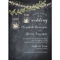 Twinkling Jars Standard Wedding Invitation