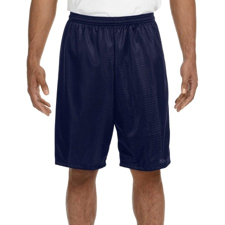 Men's Mesh Shorts With Pockets Gym Basketball