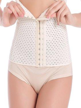 Women Slimming Body Shaper Waist Trainer Tummy Boneless Underbust Slimming Girdle Belly