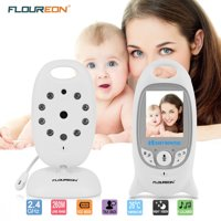 "Baby Monitor 2.0"" TFT LCD Baby Monitor Video Camera with Night vision Two-Way Talking with Built-in Lullabies, White"