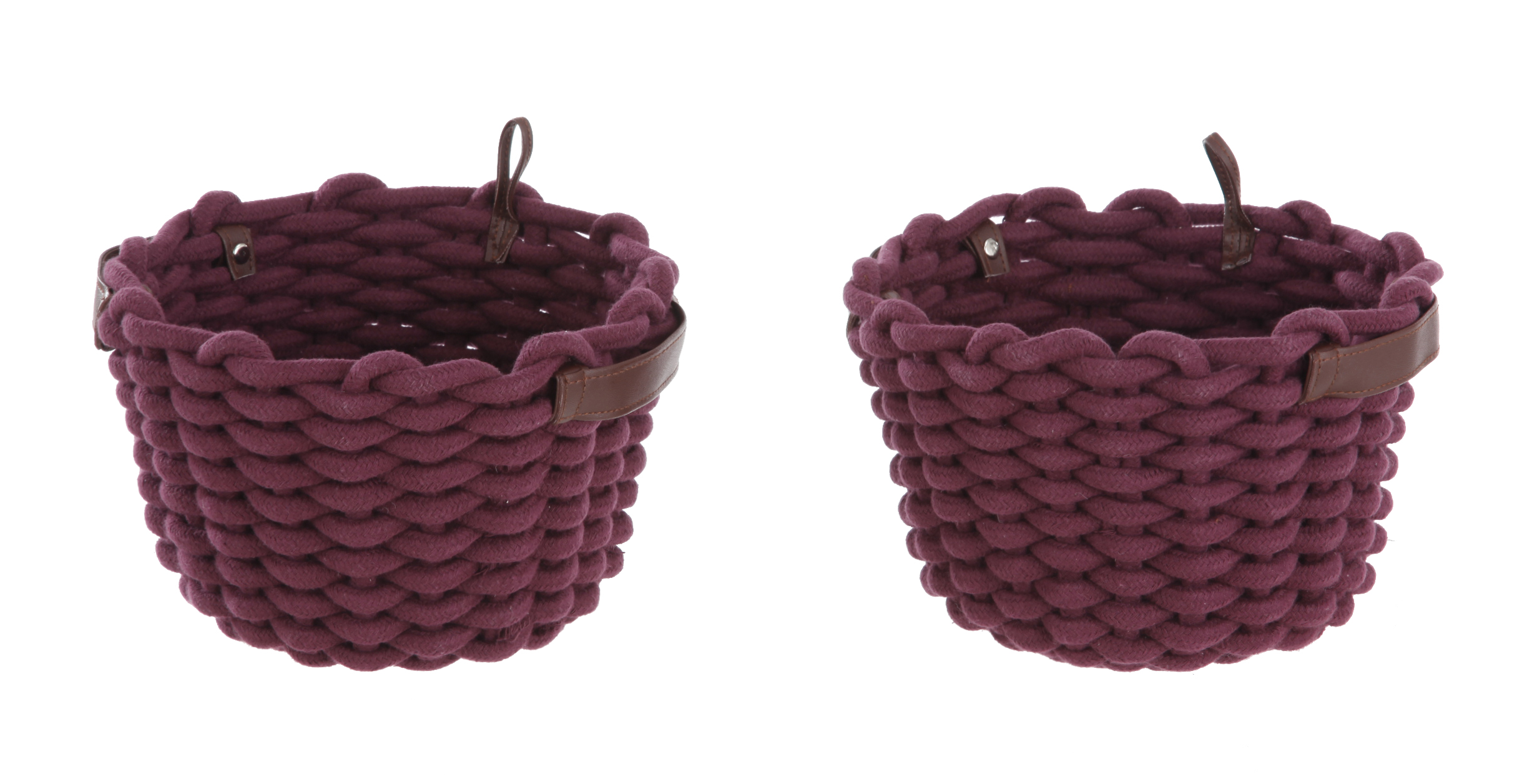 2-Pack Better Homes & Gardens Chunky Rope Basket
