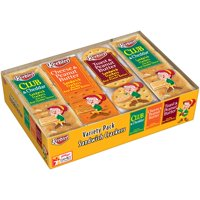 (3 Pack) Keebler Variety Pack Sandwich Crackers 8-1.38 oz. Packages