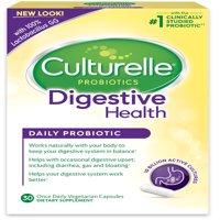 Culturelle Digestive Health Probiotic Capsules- 30 CT