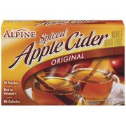 Alpine Spiced Cider Apple Flavor Drink Mix, 10-Count, 7.4-Ounce Pouches