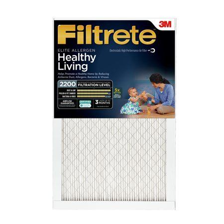 Filtrete 14x20x1, Elite Allergen Reduction HVAC Furnace Air Filter, 2200 MPR, 1 Filter