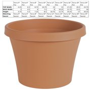 "Bloem Terra Pot Planter 24"" Terra Cotta"