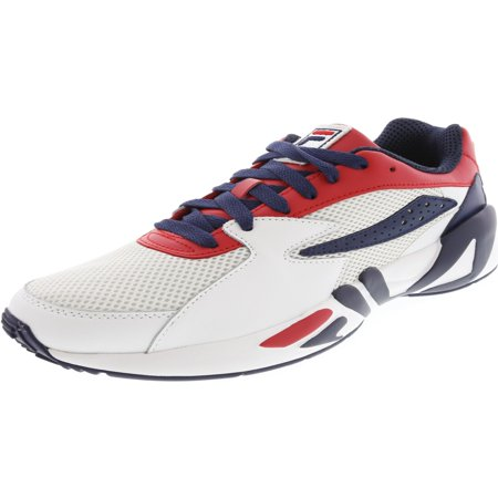 Fila Men?s Mindblower Athletic Style Casual Sneaker - 10M - Fire Red / White / - Fila Athletic Shoes