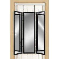 Mirrotek Triple View Professional Over The Door Dressing Mirror
