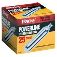 Daisy Ammunition and CO2 7025 25 ct. CO2 Cylinders