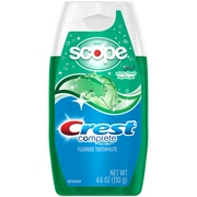 (3 pack) Crest Complete Whitening plus Scope Multi-Benefit Fluoride Liquid Gel Toothpaste, Minty Fresh, 4.6 Ounce