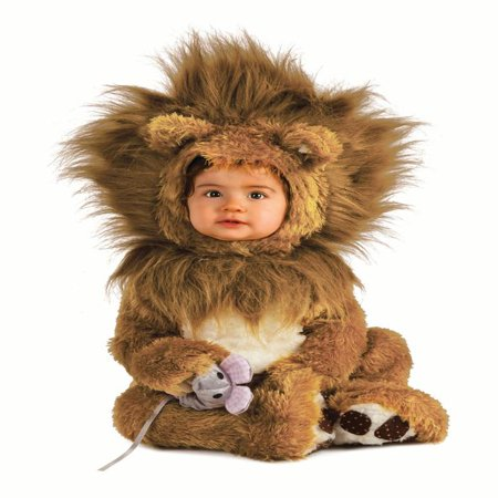 Rubies Lion Infant Halloween Costume](Halloween Costume Ideas For Family With Infant)
