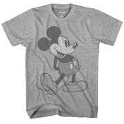 Disney Giant Mickey Mouse Disneyland World Tee Funny Humor Adult Mens  Graphic T-Shirt 5335be8b57d
