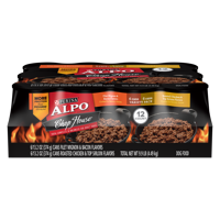 ALPO Chop House Filet Mignon, Roasted Chicken & Top Sirloin Wet Dog Food Variety Pack - (12) 13.2 oz. Cans