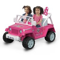 Power Wheels Disney Minnie Mouse Happy Helpers Jeep Wrangler