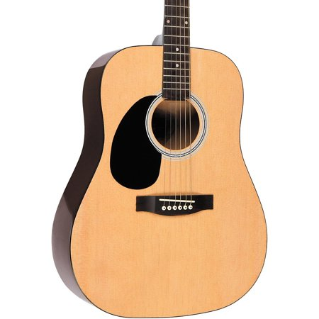 - Rogue RG-624 Left-Handed Dreadnought Acoustic Guitar Natural