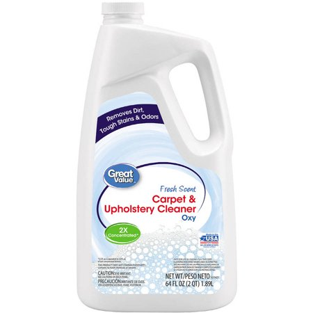 Great Value Oxy Carpet Upholstery Cleaner 64 Oz Walmart Com