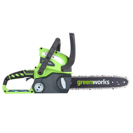 Greenworks 12-Inch 40V Cordless Chainsaw, Battery Not Included 20292 - Chainsaw Prop