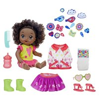 Baby alive so many styles baby (black curly hair)