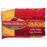 American Beauty Extra Wide Egg Noodles, 12-Ounce Bag