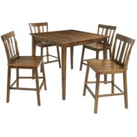 Mainstays 5-Piece Mission Style  Dining Set, Cherry