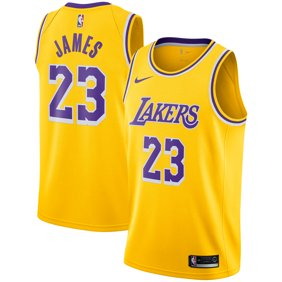 7794b0c4b LeBron James Los Angeles Lakers Nike 2018 19 Swingman Jersey Gold - Icon  Edition