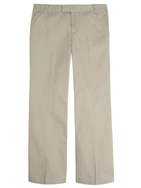 French Toast Girls 10-20 Plus Adjustable Flat Front Twill Pant