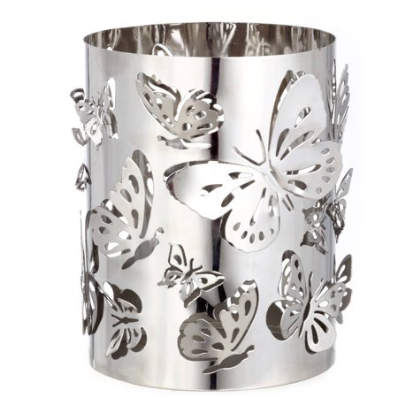 Better Homes & Gardens Tall Metal Candle Holder, Butterfly - Better Homes And Gardens Halloween Decorations