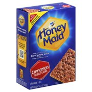 (3 Pack) Nabisco Honey Maid Cinnamon Grahams, 14.4 Oz