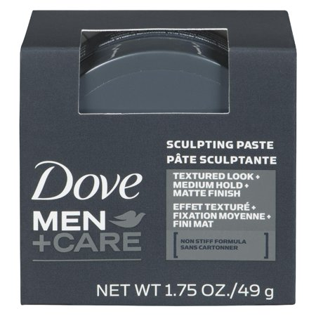 Dove Men+Care Sculpting Paste Hair Styling, 1.75 (Mahogany Paste)