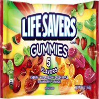 (3 Pack) Life Savers, 5 Assorted Flavors Chewing Gummy Candy, 13 Oz