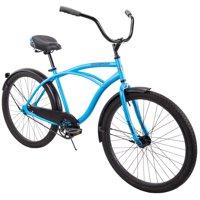 """Huffy 26"""" Cranbrook Mens Comfort Cruiser Bike, Matte Blue"""
