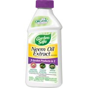 Garden Safe Brand Neem Oil Extract Concentrate, 16-fl oz