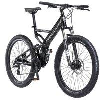 "26"" Mongoose Blackcomb Men's Mountain Bike, Black"