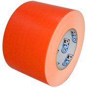 Ultra Bright Neon Orange Duct Tape 4 inch x 60  yards