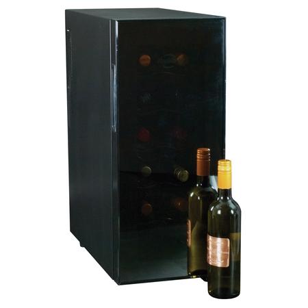 Koolatron 12 Bottle Slim Electric Wine Cooler Single Zone WC12, (Best 24 Inch Built In Wine Cooler)