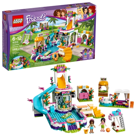 LEGO Friends Heartlake Summer Pool 41313 (589 Pieces) - Lego Banner